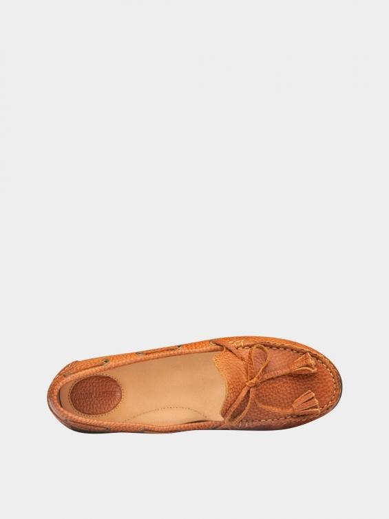 کفش کالج زنانه تینا WS3234 عسلی داخل