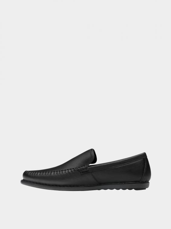 کفش کالج مردانه 1421 MS2817 مشکی چپ