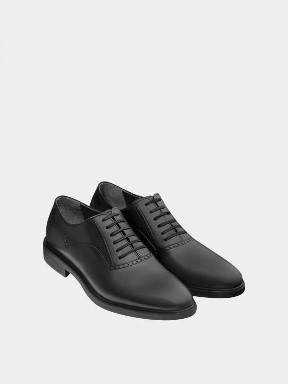 کفش کلاسیک مردانه 1430 MS2832 مشکی نمای جفت