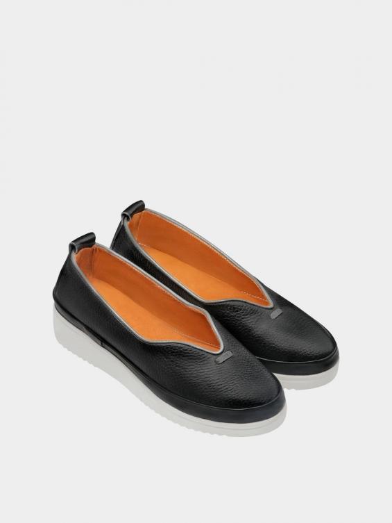 کفش اسپورت زنانه 5503 WS3121 مشکی نمای جفت