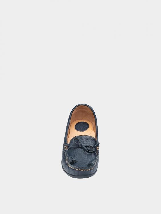 کفش کالج زنانه تینا WS3234 سرمه ای نمای جلو