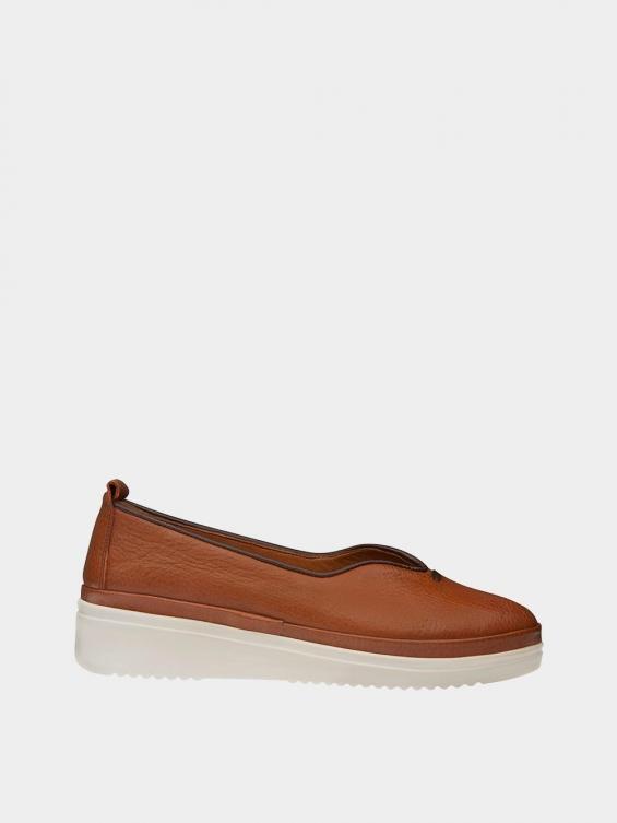 کفش اسپورت زنانه 5503 WS3121 عسلی راست