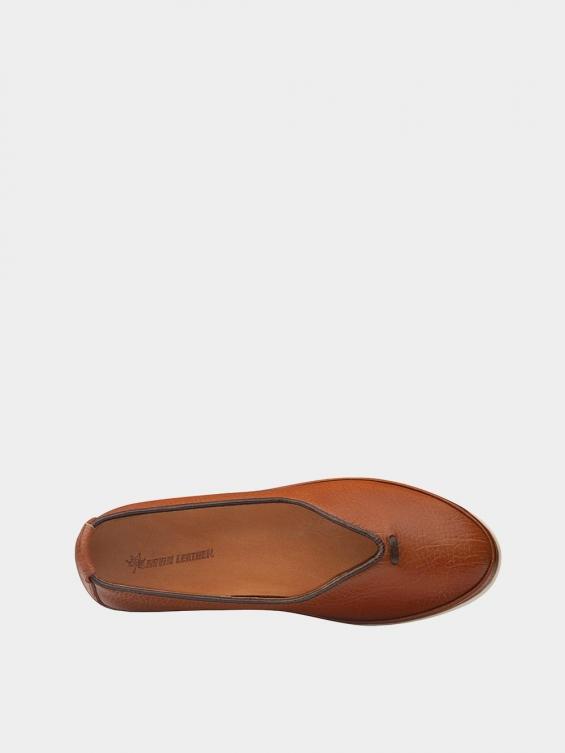 کفش اسپورت زنانه 5503 WS3121 عسلی نمای داخل