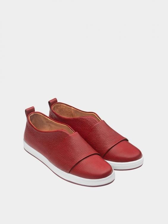 کفش اسپورت زنانه 872 WS3079 قرمز نمای جفت