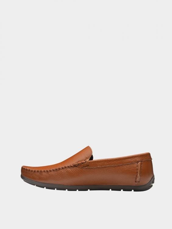 کفش کالج مردانه MS1932 2026 عسلی چپ