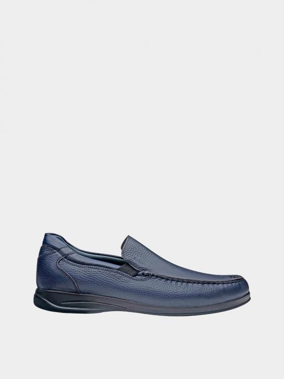 کفش کالج مردانه 2030 MS2117 سرمه ای راست