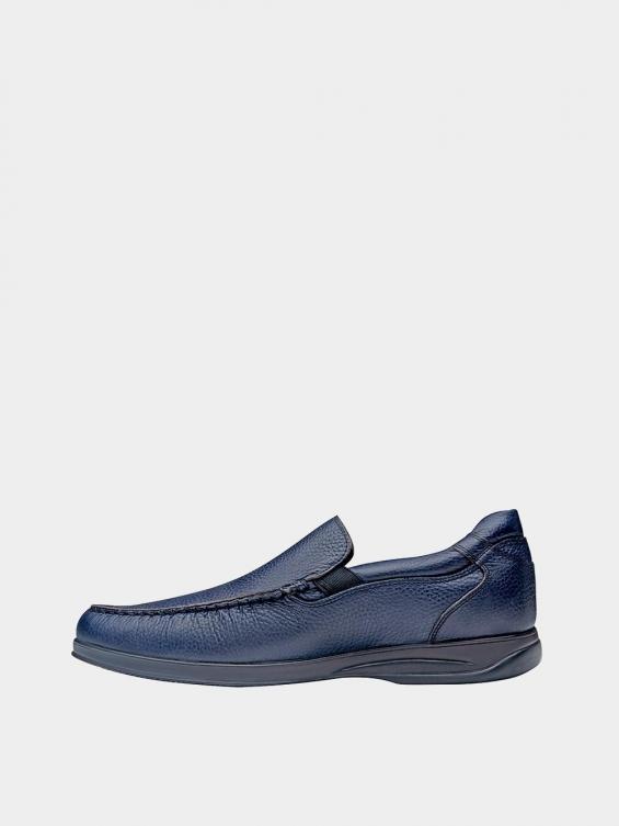کفش کالج مردانه 2030 MS2117 سرمه ای چپ
