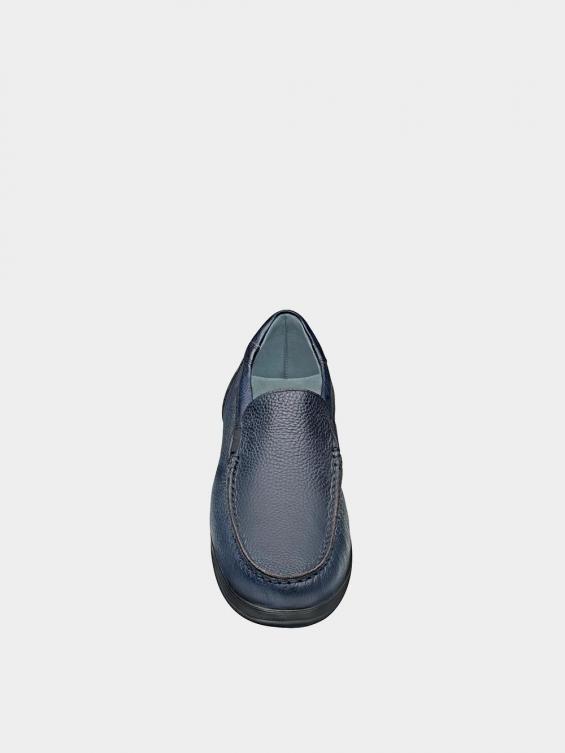 کفش کالج مردانه 2030 MS2117 سرمه ای نمای جلو