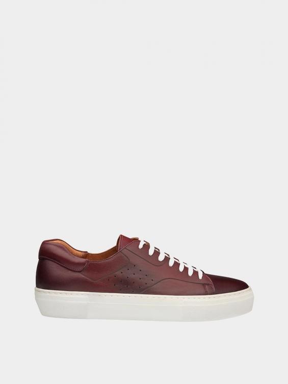 کفش اسپورت مردانه 6014 MS2514 زرشکی راست