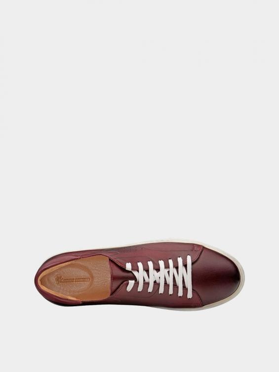 کفش اسپورت مردانه 6014 MS2514 زرشکی نمای داخل