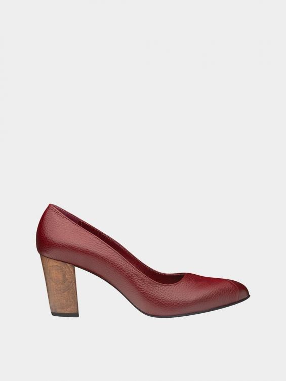 کفش مجلسی زنانه 1347 WS3219 زرشکی راست