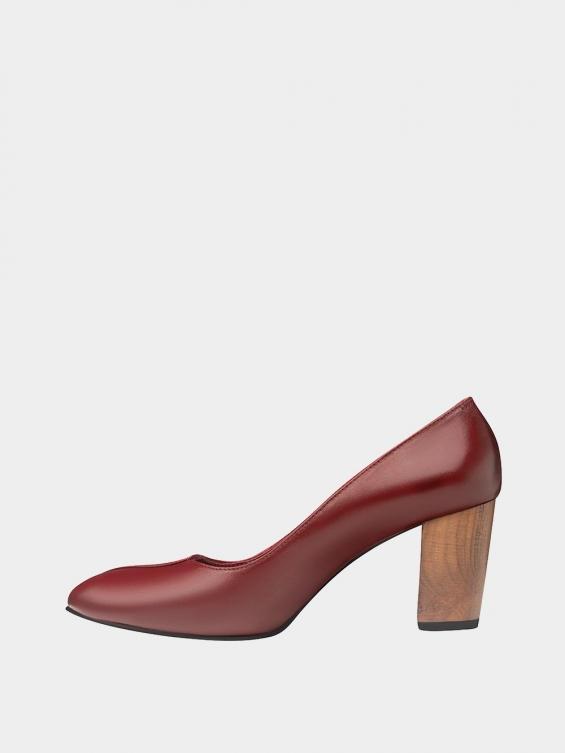 کفش مجلسی زنانه 1347 WS3219 زرشکی چپ