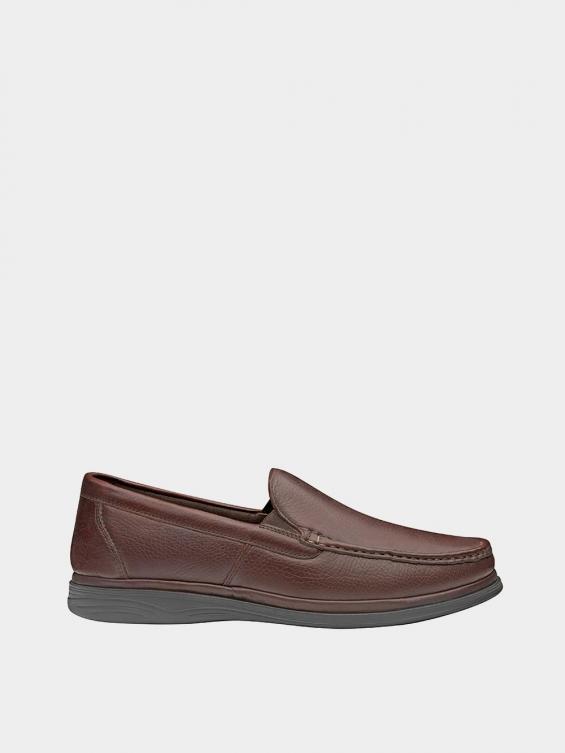 کفش کالج مردانه 6220 MS2773 قهوه ای راست