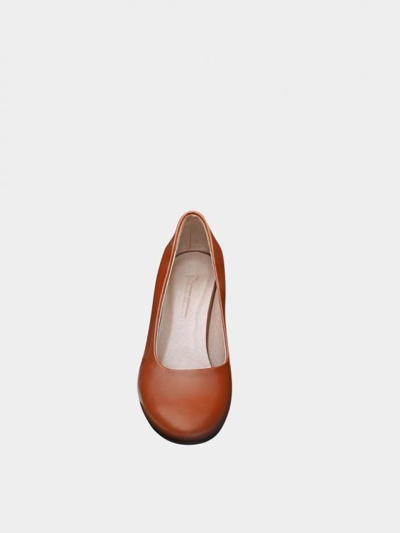 کفش مجلسی زنانه 700 WS3014 عسلی