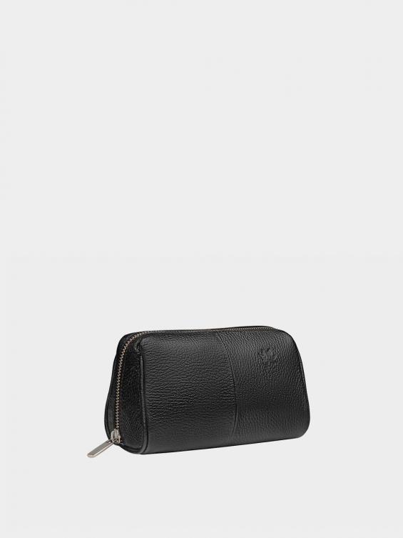 کیف آرایشی آیناز CBX0319 مشکی نمای بغل