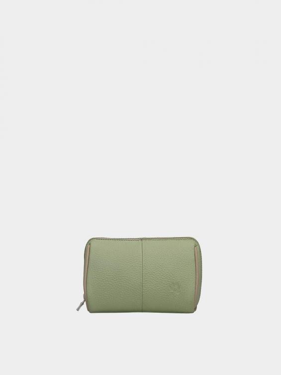 کیف آرایشی آیناز CBX0319 سبز نمای جلو