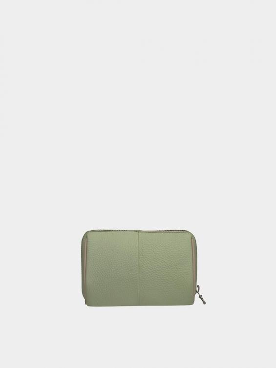کیف آرایشی آیناز CBX0319 سبز نمای پشت