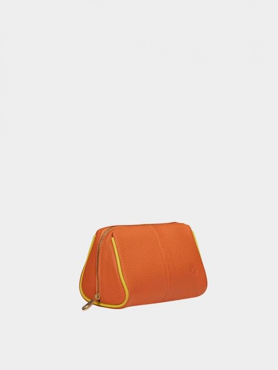 کیف آرایشی آیناز CBX0319 نارنجی