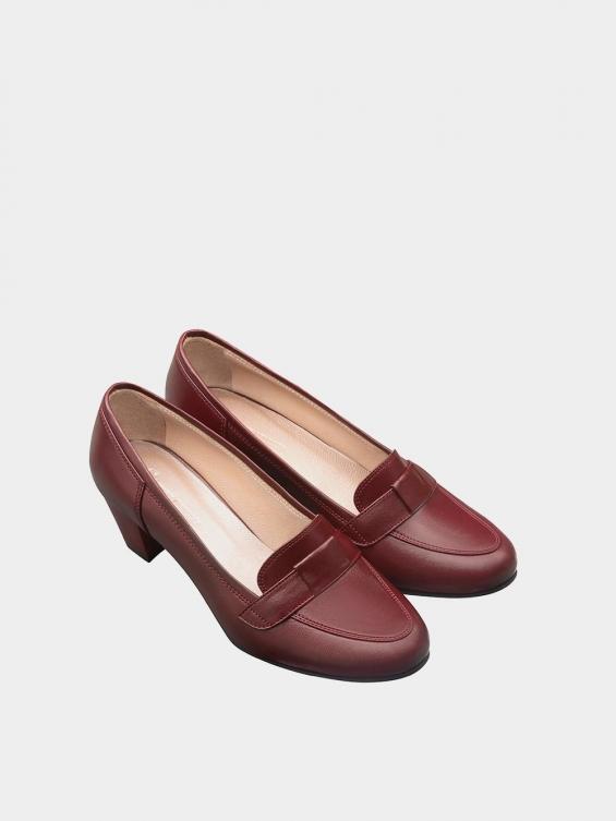 کفش مجلسی زنانه 730 WS2809 زرشکی