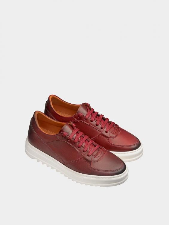 کفش اسپورت مردانه 7014 MS2520 زرشکی