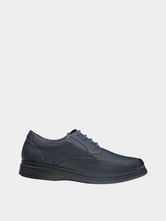 کفش کلاسیک مردانه 6224 بندی MS2772 سرمه ای