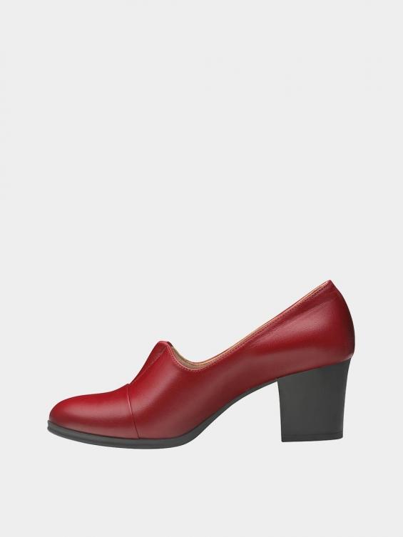 کفش مجلسی زنانه 9002 WS3016 زرشکی