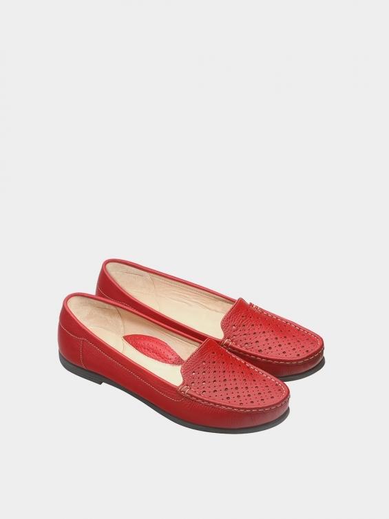 کفش کالج زنانه ریما WS3242  قرمز جفت