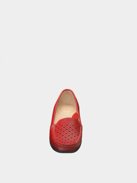 کفش کالج زنانه ریما WS3242  قرمز نمای جلو