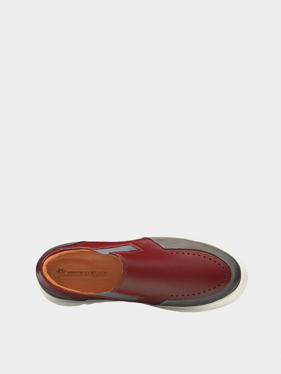 کفش اسپورت مردانه 7015 MS2521 زرشکی