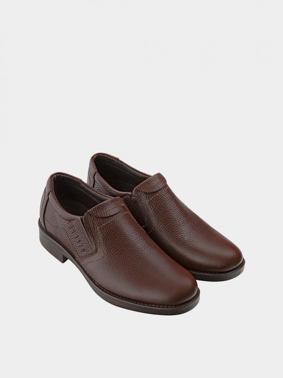 کفش کلاسیک مردانه 1017 MS1504 قهوه ای