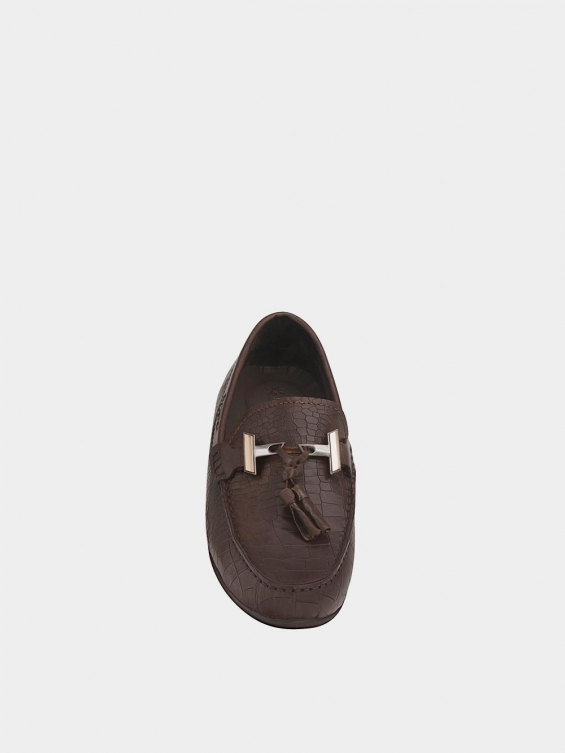 کفش کالج مردانه 7022 MS2652 PJ قهوه ای