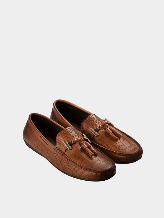 کفش کالج مردانه 7022 MS2652 PJ عسلی