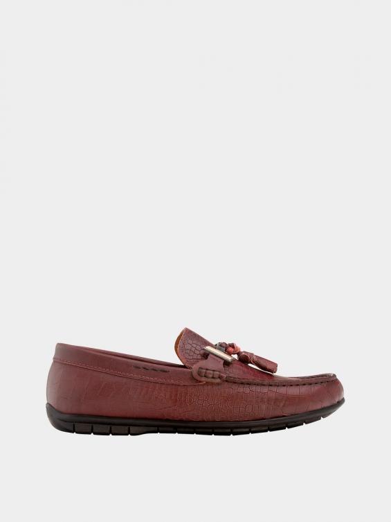 کفش کالج مردانه 7022 MS2652 PJ زرشکی