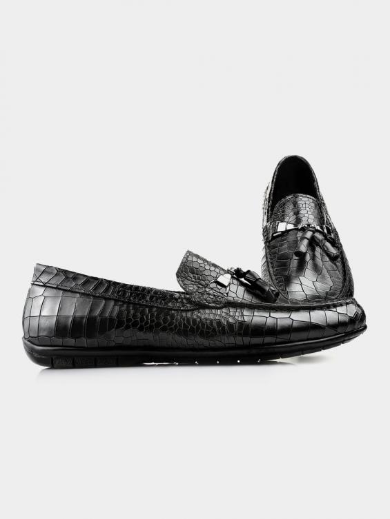 کفش کالج مردانه 7022 MS2652 PJ مشکی