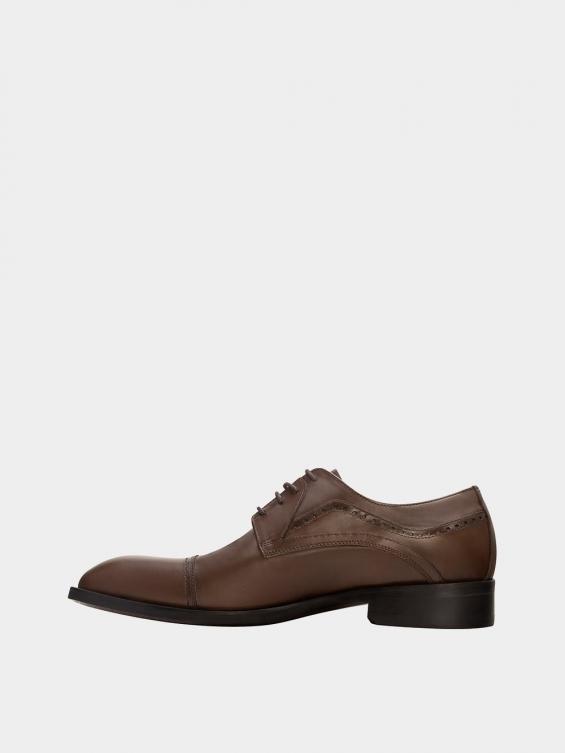 کفش کلاسیک مردانه 2326 MS2727 قهوه ای