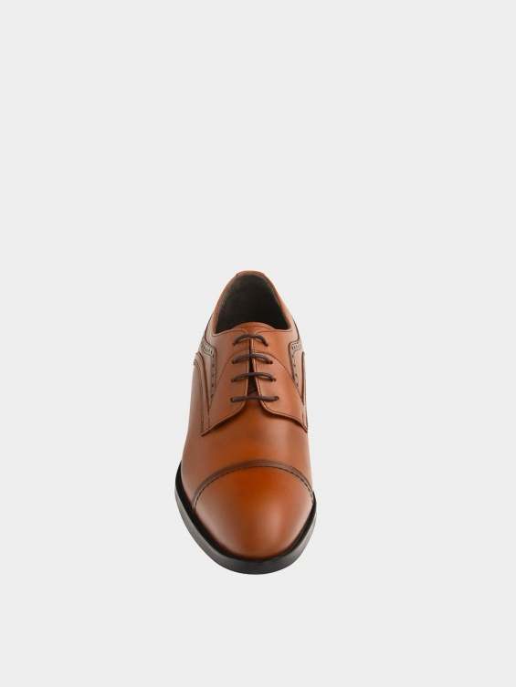 کفش کلاسیک مردانه 2326 MS2727 عسلی