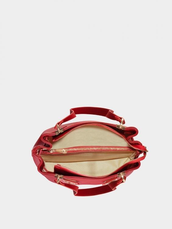 کیف دوشی زنانه دلیلا LHB4440 قرمز