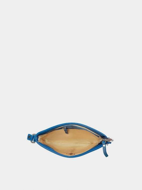 کیف دوشی زنانه ساندرا LHB4522 آبی