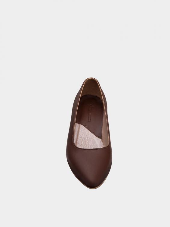 کفش مجلسی زنانه 359 WS3102 قهوه ای