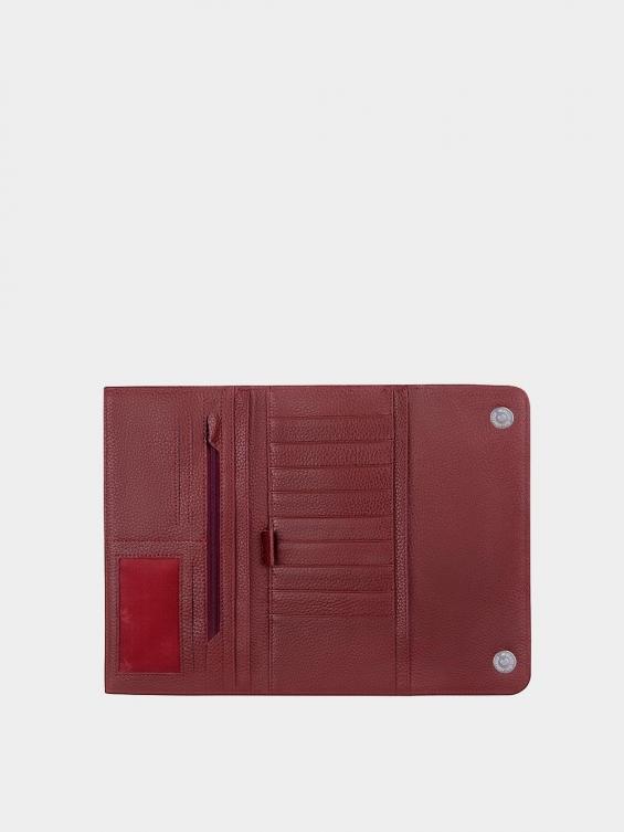 کیف پاسپورتی سپهر فلوتر WB3692 زرشکی