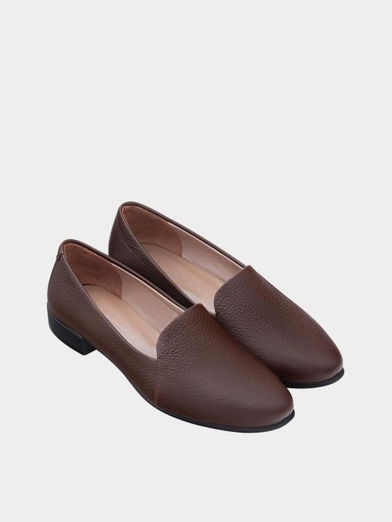 کفش کالج زنانه 9008 WS3112 قهوه ای