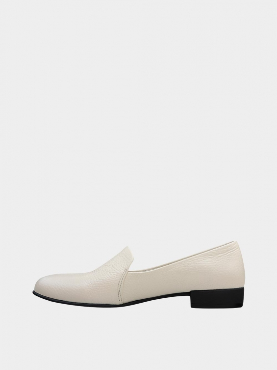 کفش کالج زنانه 9008 WS3112 شیری
