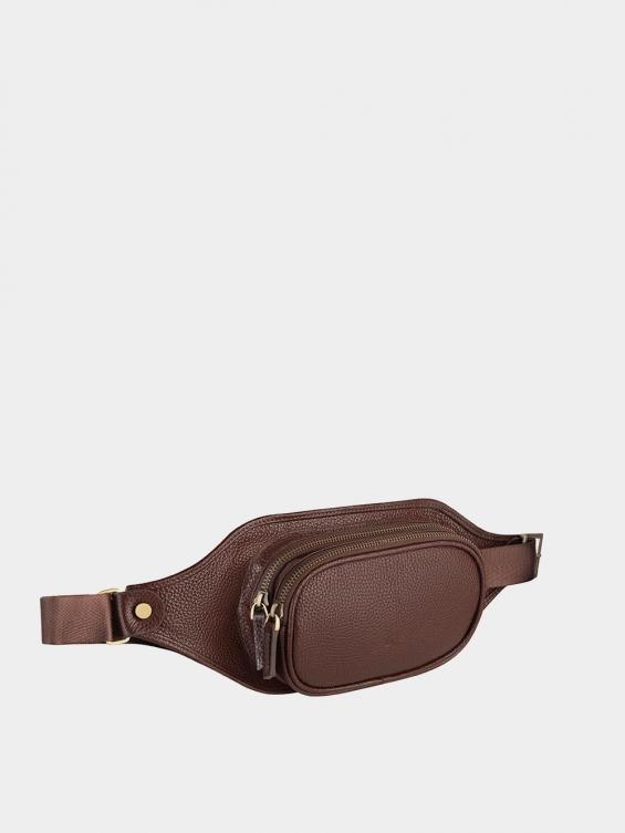 کیف کمری دوزیپ مورفی BP418 قهوه ای