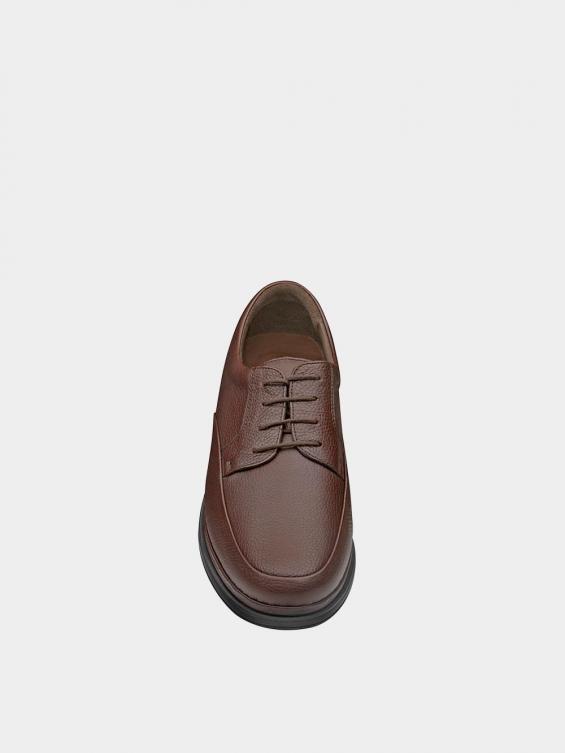کفش کلاسیک مردانه 6224 بندی MS2772 قهوه ای