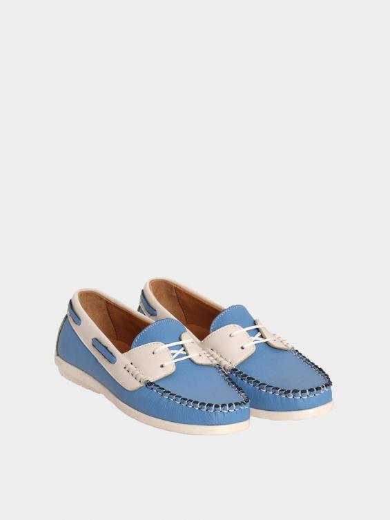 کفش کالج زنانه 1598 WS3405 آبی