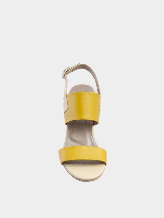 صندل زنانه 1381 WS3280 زرد