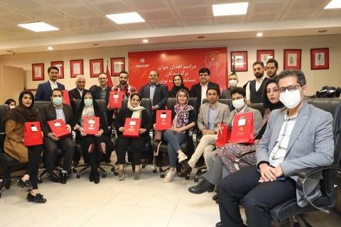 برگزاری مراسم قدردانی و اهدای جوایز برگزیدگان مسابقه ایده نوین