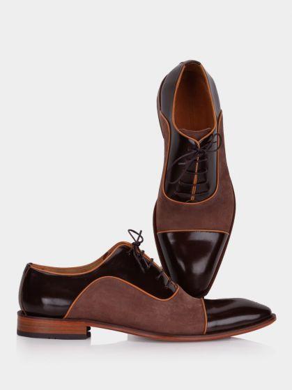 کفش کلاسیک مردانه 5332 زیره چرم MS2394  EFE