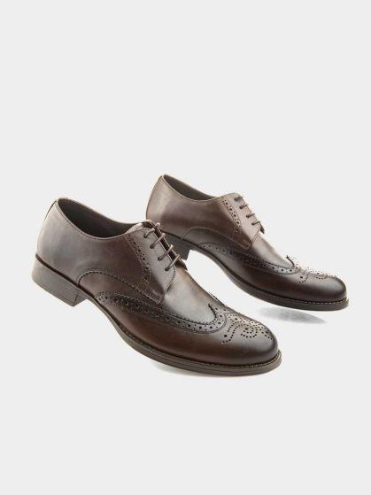 کفش کلاسیک مردانه  1118 بندی MS2589  EH