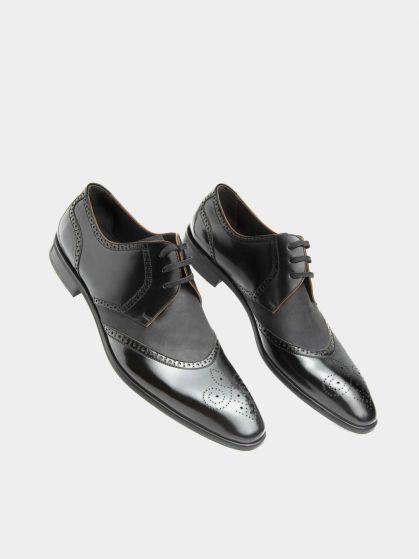کفش کلاسیک مردانه 20201 زیره چرم  MS2592